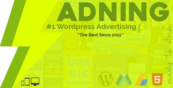 Adning Advertising 1.3.7 - All In One Ad Manager for WordPress