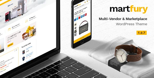 Martfury 1.6.7 - WooCommerce Marketplace WordPress Theme