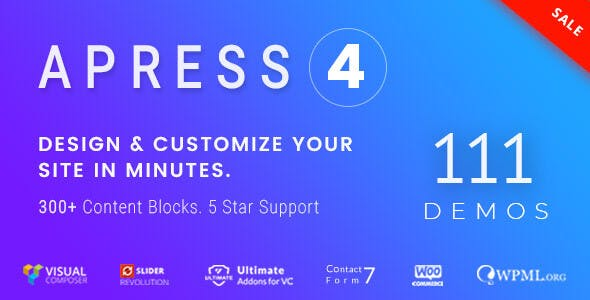 Apress 4.5.5 - Responsive Multi-Purpose Theme
