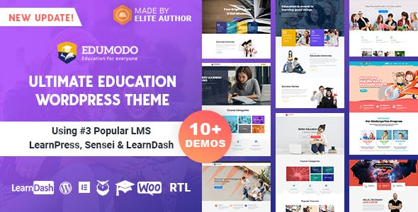Edumodo 2.5.6 - Education WordPress Theme