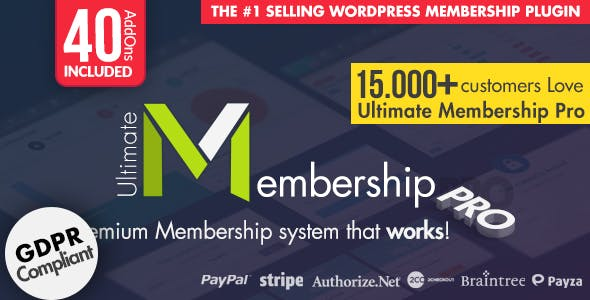 Ultimate Membership Pro 7.8 - WordPress Membership Plugin