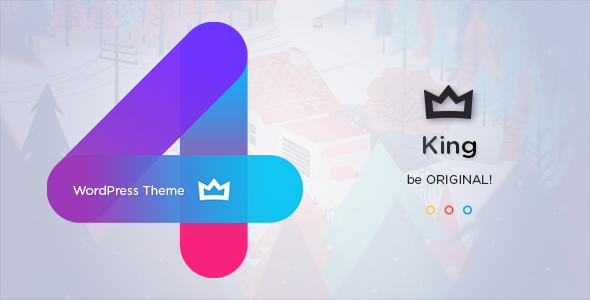 King 4.0 (Nulled) - Viral Magazine WordPress Theme