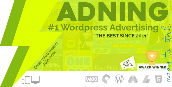 Adning Advertising 1.3.8 - All In One Ad Manager for WordPress