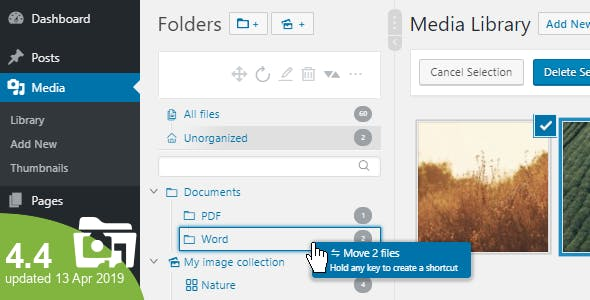 Real Media Library 4.5.1 (Nulled) - Media Categories / Folders File Manager