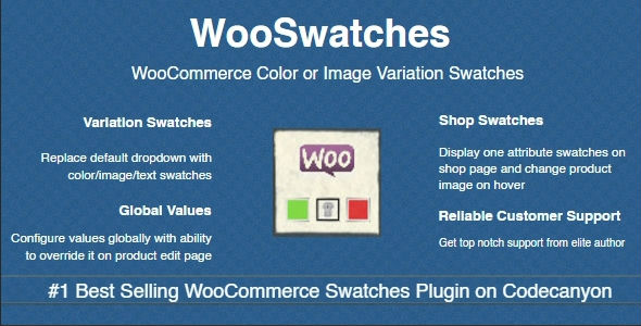 WooSwatches 2.7.11 - Woocommerce Color or Image Variation Swatches