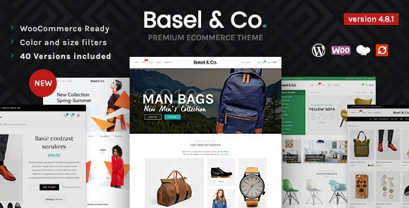 Basel 4.8.1 (Nulled) - Responsive eCommerce Theme