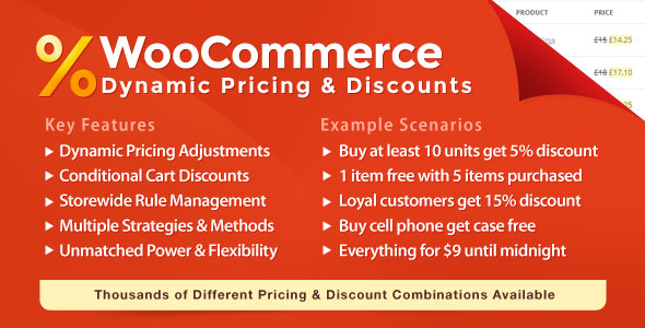 WooCommerce Dynamic Pricing & Discounts 2.3.1