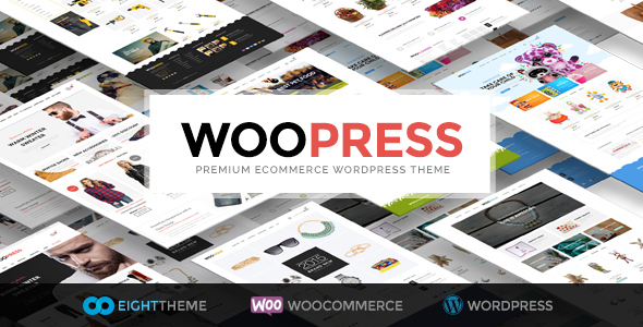 WooPress 6.3.2 Nulled - Responsive Ecommerce WordPress Theme