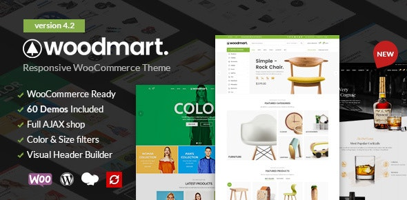 WoodMart 4.2.0 (Nulled) - Responsive WooCommerce WordPress Theme