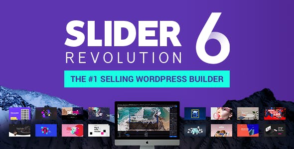 Slider Revolution 6.1.3 (Nulled) - Responsive WordPress Plugin