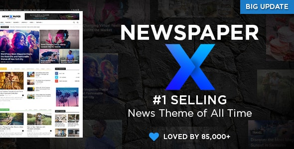 Newspaper 10.3 (Nulled) - The Best News Magazine WordPress Theme