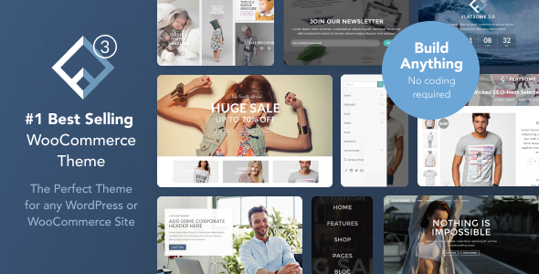 Flatsome 3.10.0 (Nulled) - Multi-Purpose Responsive WooCommerce Theme