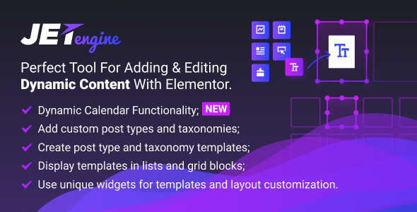 JetEngine 2.1.3 - Adding & Editing Dynamic Content with Elementor