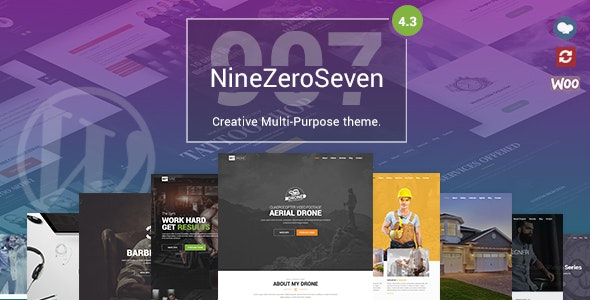 907 v4.3 - Responsive Multi-Purpose WordPress Theme