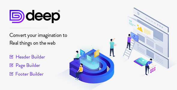 Deep 4.2.0 Nulled - Premium WordPress Theme