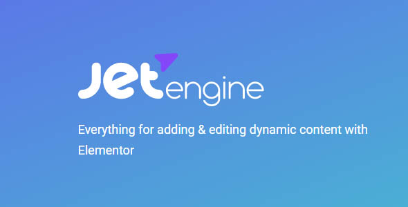 JetEngine 2.3.6 - Adding & Editing Dynamic Content with Elementor