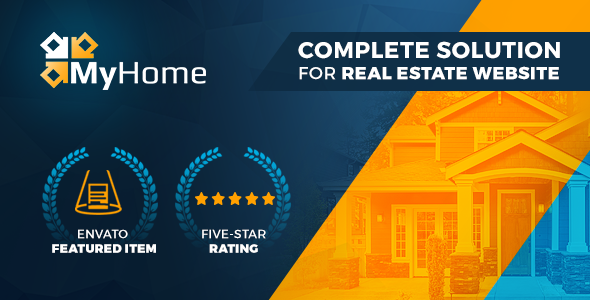 MyHome 3.1.36 - Real Estate WordPress Theme