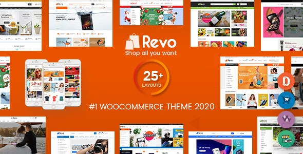 Revo 3.6.3 Nulled - Multipurpose WooCommerce WordPress Theme