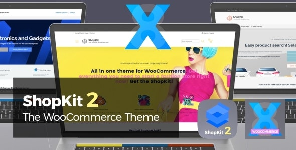 ShopKit 2.3.1 Nulled - The WooCommerce Theme
