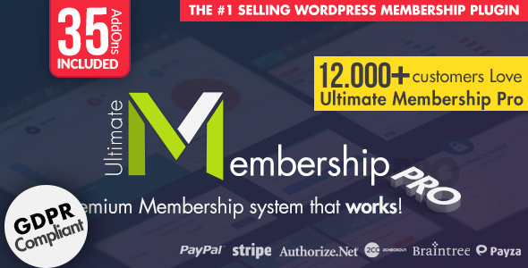 Ultimate Membership Pro 8.7 (Nulled) - WordPress Membership Plugin