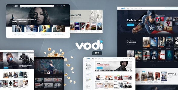 Vodi 1.2.4 - Video WordPress Theme for Movies & TV Shows