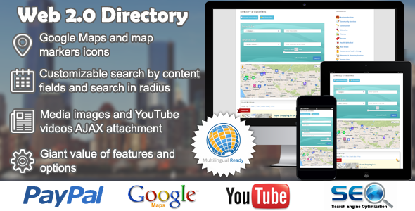 Web 2.0 Directory plugin for WordPress 2.5.20 Nulled