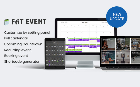 FAT Event 4.1 - WordPress Event and Calendar Booking