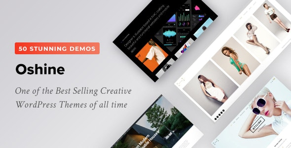 Oshine 6.8.9.3 - Creative Multi-Purpose WordPress Theme