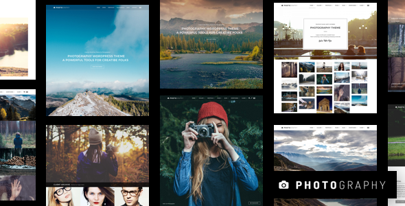 Photography 7.0.1 Nulled - Responsive Photography WordPress Theme