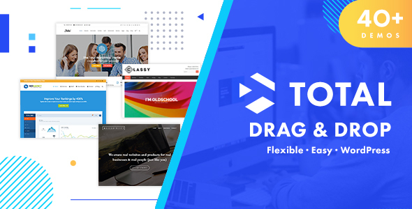 Total 4.9.9.1 (Nulled) - Responsive Multi-Purpose WordPress Theme
