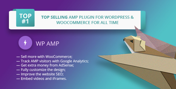 WP AMP 9.3.5 - Accelerated Mobile Pages for WordPress and WooCommerce