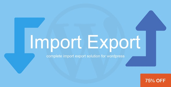 WP Import Export 3.4.0 Nulled
