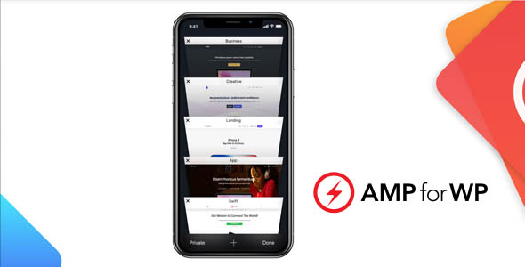 AMP for WP 1.0.35 (+Extension) - Make your site faster on Mobile