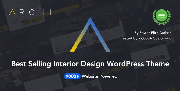 Archi 4.3.6.3 - Interior Design & Architecture WordPress Theme