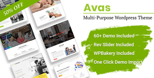 Avas 6.1.24 Nulled - Multi-Purpose Elementor WordPress Theme