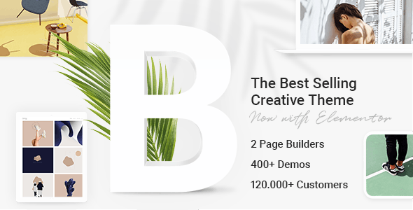 Bridge 21.6 Nulled - Creative Multipurpose WordPress Theme