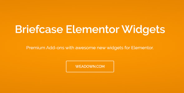 Briefcase Elementor Widgets 1.8.4 Nulled