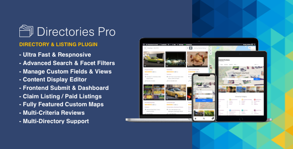 Directories Pro plugin for WordPress 1.3.14 Nulled