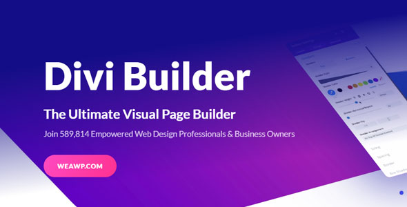 Divi Builder 4.4.5 - Ultimate Visual Page Builder WordPress Plugin