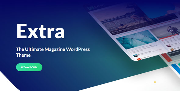 Extra 4.4.5 - The Ultimate Magazine WordPress Theme