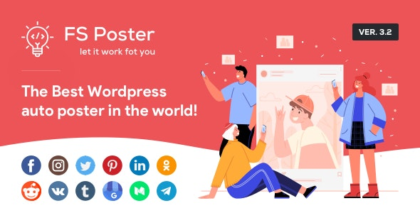 FS Poster 4.3.2 Nulled - WordPress Auto Poster & Scheduler