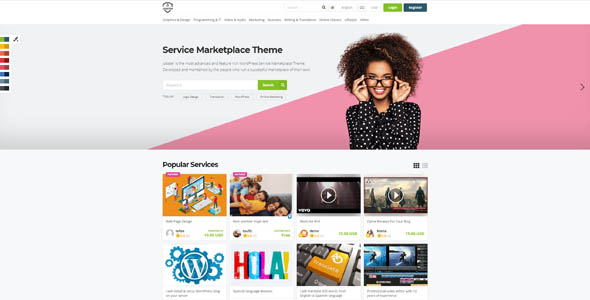 WPJobster 5.8.1 Nulled - Service Marketplace WordPress Theme