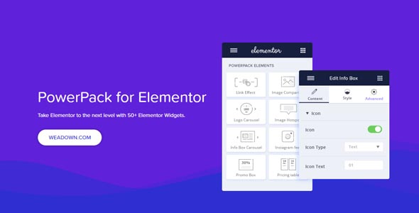 PowerPack For Elements 1.4.15 Nulled - Addons & Widgets for Elementor