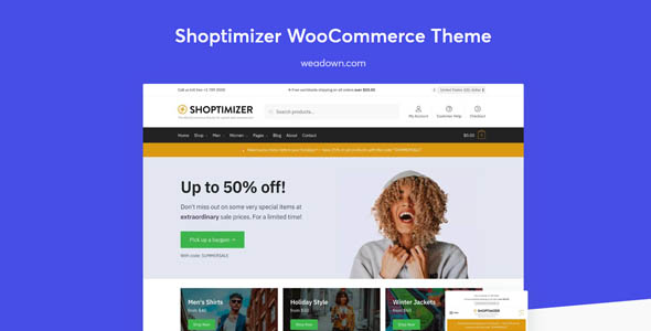 Shoptimizer 2.1.4 - The Fastest WooCommerce Theme