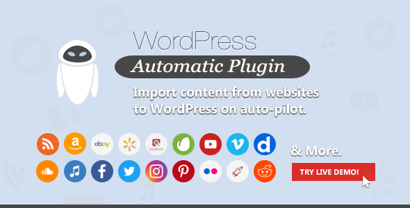 WordPress Automatic Plugin 3.50.7 Nulled