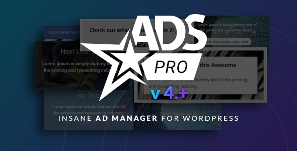 Ads Pro Plugin 4.3.95 Nulled - WordPress Advertising Plugin