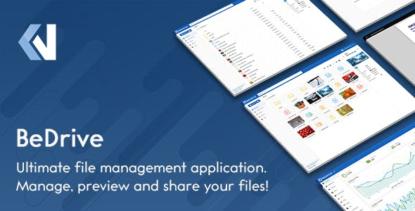 BeDrive 2.2.5 - File Sharing and Cloud Storage