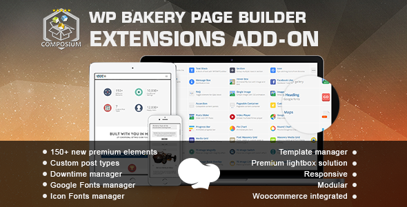 Composium 5.5.4 - WPBakery Page Builder Extensions Addon