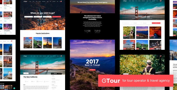 Grand Tour 4.3 (Nulled) - Travel Agency WordPress