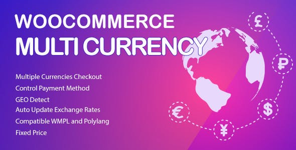 WooCommerce Multi Currency 2.1.14 – Currency Switcher